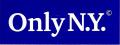 ONLY NY ''LOGO mini'' ステッカー ブルー