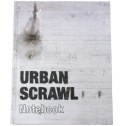 Urban Scrawl Notebook book(横17×縦21.4cm)