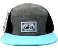 Chuck originals ''Chip'' シャンブレー5パネルCAP ライトブルー
