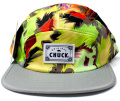 Chuck originals ''HAZE''5パネルCAP グレー