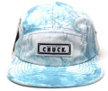 Chuck originals ''DYE TRYING'' 5パネルCAP ブルー
