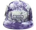 Chuck originals ''DYE TRYING'' 5パネルCAP パープル