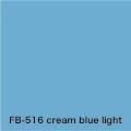 FLAME 516 cream blue light