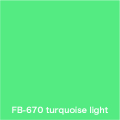 FLAME 670 turquoise light