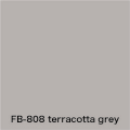 FLAME 808 terracotta grey pastel