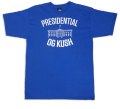 UPG PRESIDENTIAL OG KUSH メディカルマリファナ Tシャツ