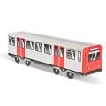 """Mini Subwayz """"Hamburg""""  ペーパークラフト"""