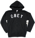 OBEY CORE ジップアップパーカー 2色展開