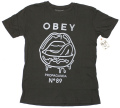 OBEY  ''WETLIPS'' Tシャツ グラファイト