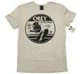 OBEY  ''Boming Bird'' Tシャツ ヘザーストーン