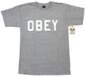 OBEY  ''Collegiate'' Tシャツ 3色展開