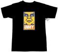 OBEY  ''ORANGE ICON'' Tシャツ