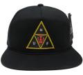 OBEY X HUF ICON FACE  スナップバック CAP ブラック