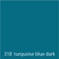 URBAN FINE ART 318 turquoise blue dark