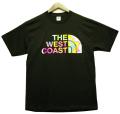THE WEST COAST 80's レトロ柄 Teeシャツ 2色展開 【New】新色追加!!