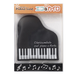 piano line エコなカイロ ※お取り寄せ商品 【音楽雑貨 音符・ピアノモチーフ】ト音記号 ピアノ雑貨