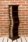 新商品 キーボード CDホルダー ♪【音楽雑貨 音符・ピアノモチーフ】音符 ピアノ 楽器 音楽雑貨