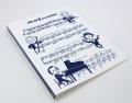 ブラボー 20ポケット縦入れファイル ネイビー ☆※お取り寄せ商品 【音楽雑貨 音符・ピアノモチーフ】ト音記号 ピアノ雑貨