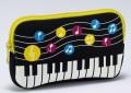 水玉音符 モバイルケース ☆※お取り寄せ商品 【音楽雑貨 音符・ピアノモチーフ】ト音記号 ピアノ雑貨