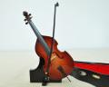 ミニチュア楽器!コントラバス 24cmサイズ♪この商品はお取り寄せ商品です♪♪【楽器-音楽雑貨】