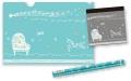 TW ステーショナリーセット ※お取り寄せ商品 【音楽雑貨 音符・ピアノモチーフ】ト音記号 ピアノ雑貨