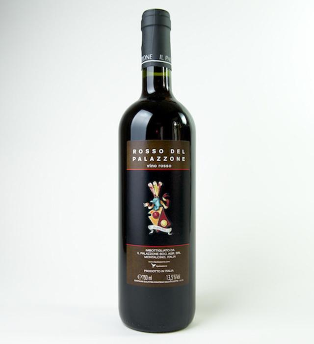 ブルネッロディモンタルチーノのベースにもなっている香り豊かな深みのあるイルパラッツォーネの赤ワイン、ロッソデルモンタルチーノ