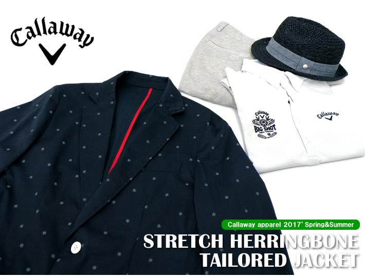 Callaway apparel(キャロウェイアパレル)テーラードジャケット