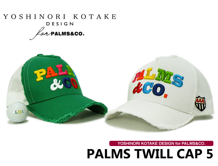 YOSHINORI KOTAKE DESIGN for PALMS&CO.(コタケ)キャップ