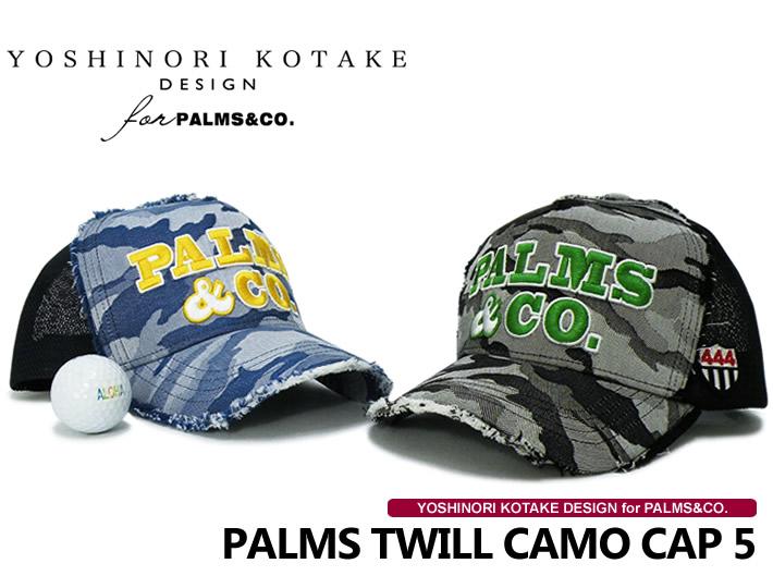 YOSHINORI KOTAKE DESIGN for PALMS&CO.(コタケ)キャップ