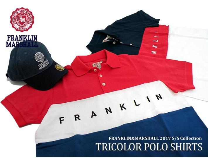 FRANKLIN&MARSHALL(フランクリンマーシャル)ポロシャツ