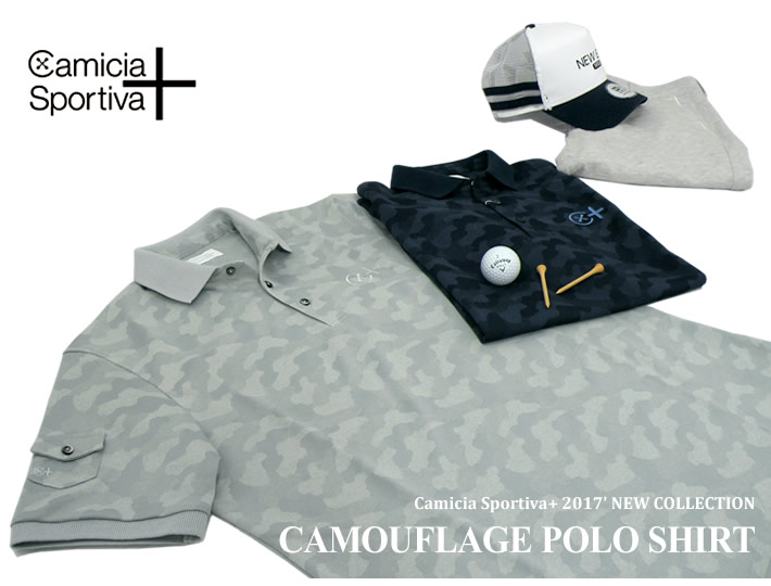 Camicia Sportiva+(カミーチャスポルティーバプラス)ポロシャツ