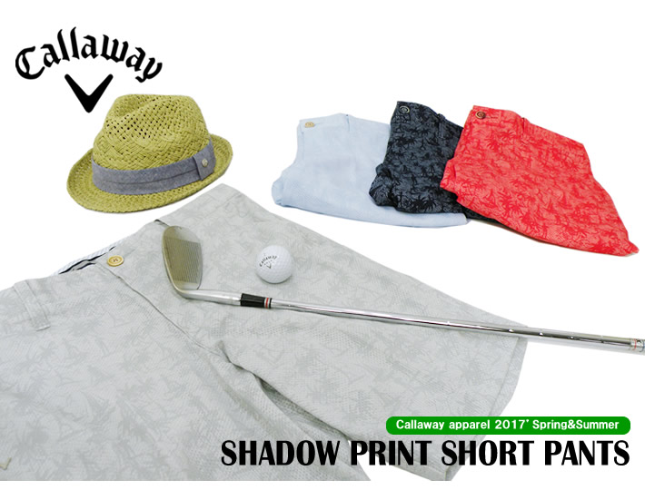 Callaway apparel(キャロウェイアパレル)ショーツ