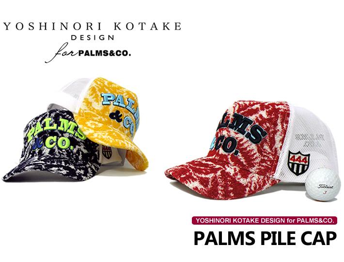 YOSHINORI KOTAKE DESIGN for PALMS&CO.(ヨシノリコタケパーススアンドコー)キャップ