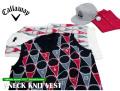 Callaway apparel(キャロウェイアパレル)ニットベスト