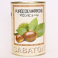 サバトン マロンピューレ 435g