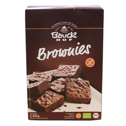 Bauckhof グルテンフリー チョコレート・ブラウニーミックス粉 400g