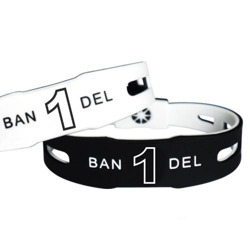 【BANDEL|バンデル】 ナンバーブレスレットBlack×White reversible(リバーシブル)