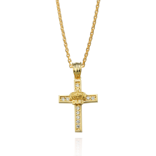 【DUB Collection】Shine crown Necklace【DUBj-282-3(YG)】【レディース】