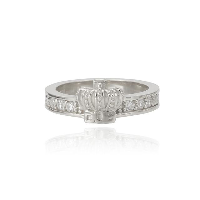 【DUB collection|ダブコレクション】Shine crown Ring シャインクラウンリング DUBj-283-2【ユニセックス】
