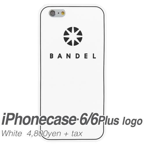 【BANDEL|バンデル】BANDEL スマートフォンケース iPhonecase 6/6Plus対応(ホワイトロゴ)