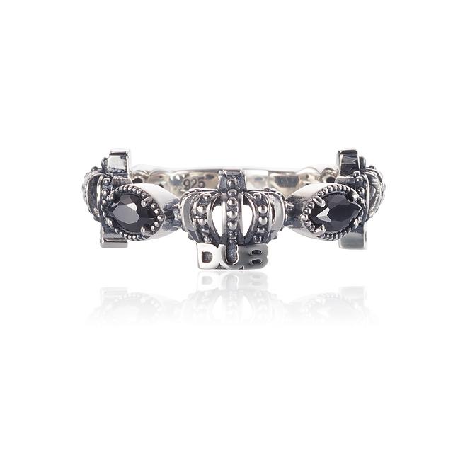 Men's JOKER掲載!!【DUB collection|ダブコレクション】Classical Crown Ring クラシカルクラウンリング DUBj-267-1【ユニセックス】