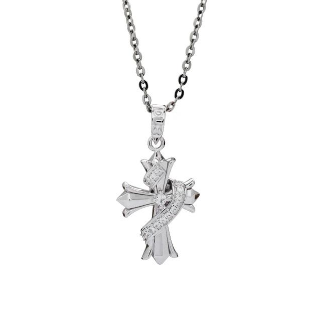 【個数・期間限定】【DUB Collection│ダブコレクション】HAN-KUN model Twined Cross Necklace トゥワインドクロスネックレス DUB-C025-1【HAN-KUNコラボ】