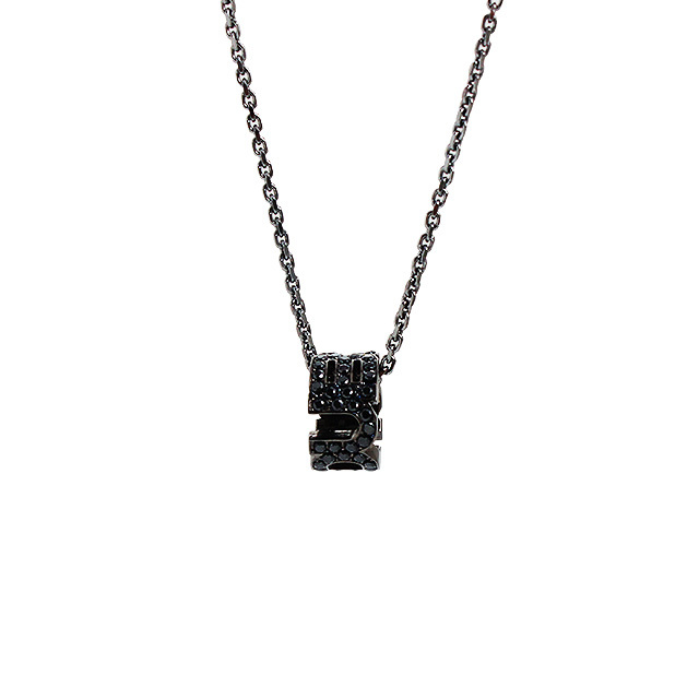 【DUB collection|ダブコレクション】Emblem Ring Necklace エンブレム リング ネックレス DUBj-177-2【ユニセックス】