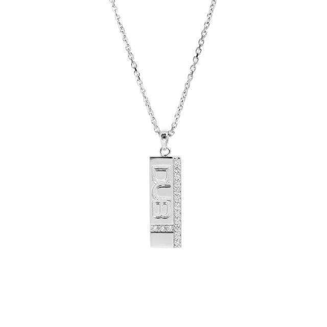 Men's JOKER掲載!!【DUB collection|ダブコレクション】Hidden Cross necklace ヒドゥン クロス ネックレス DUBj-185-1【ユニセックス】