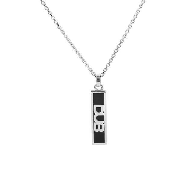 Men's JOKER掲載!!!【DUB collection|ダブコレクション】DUB logo line mini necklace ダブロゴラインミニ ネックレス DUBj-192-1【ユニセックス】
