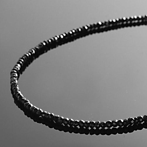 【DUB collection|ダブコレクション】Black Spinel Necklace ブラックスピネルネックレス DUBj-204【ユニセックス】