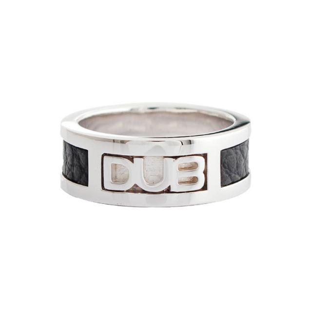 【DUB Collection|ダブコレクション】DUB leather work Ring DUBj-213-1(BK)【ユニセックス】