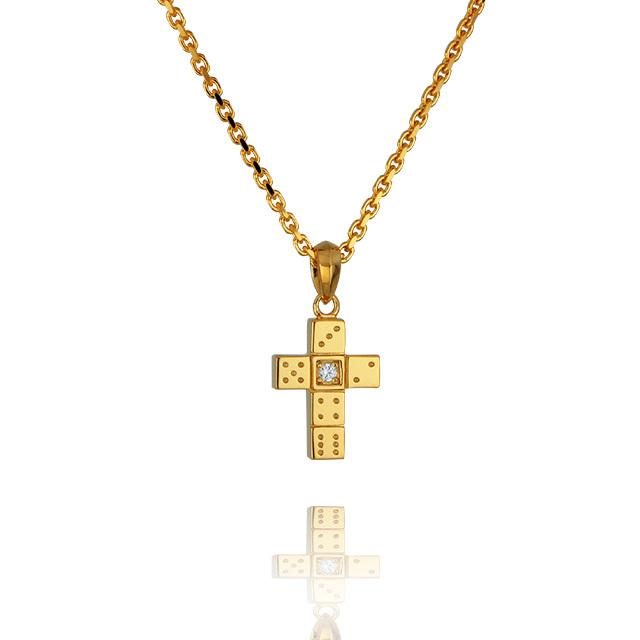 【三次予約受付中】【DUB Collection│ダブコレクション】 Da-iCE model Cross Necklace クロスネックレス DUB-C029-1【Da-iCEコラボ】【ユニセックス】