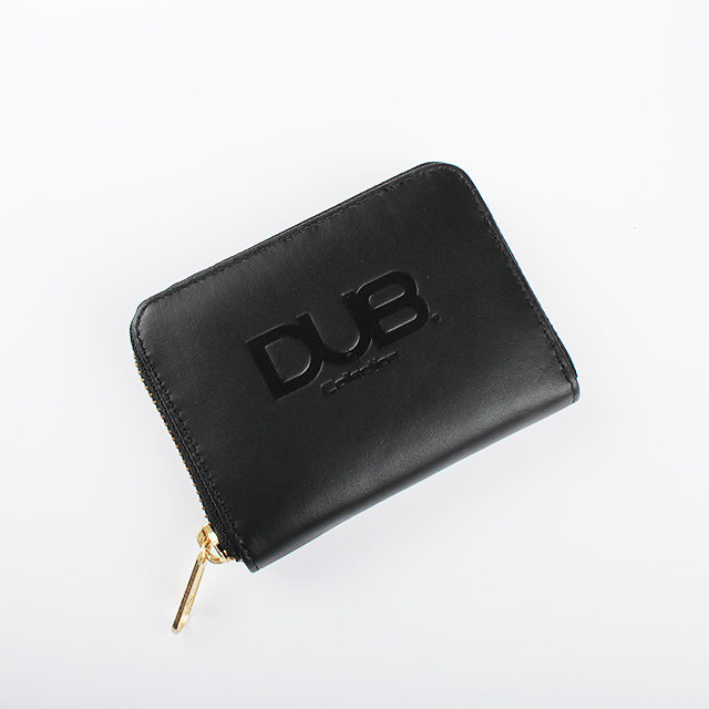 【DUB GOODS|ダブグッズ】DUB Leather Coin Cese コインケース(ブラック)|DUB-W002-1BK