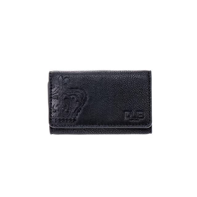 【DUB GOODS|ダブグッズ】DUB key case-Crown (ブラック)|DUB-G019-1BK